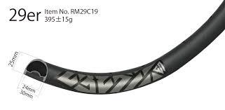 29er 40mm width 34mm innner am en carbon wheels tubeless mountain bicycle dt swiss 2 warranty wm i34 9