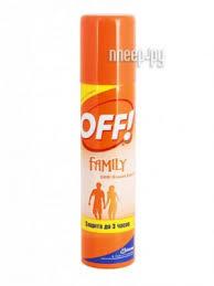 <b>Средство защиты</b> от комаров <b>SC Johnson</b> Off! Family аэрозоль ...