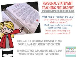 creating your own teaching portfolio sliding into second grade this component is important because it summarizes your purpose as an educator what experiences brought you to teach and what values and beliefs shape your