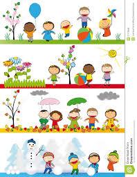 spring season essay for kids happy children in spring season royalty free stock image   image