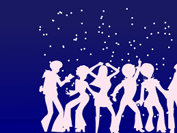 disco dancers for party backgrounds holiday music ppt backgrounds disco dancers for party backgrounds