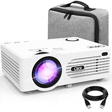 QKK Projector, AK-80 Mini Projector with Carrying Bag: Amazon.co ...