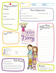 notes for your nanny is a great way to let your nanny or notes for your nanny is a great way to let your nanny or babysitter know important
