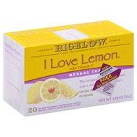 Order Acme - Bigelow <b>Herbal Tea, I Love</b> Lemon, Caffeine Free, Bags