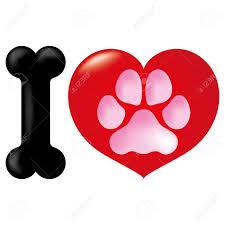 icon or symbol heart i love animals dog ideal for informational icon or symbol heart i love animals dog ideal for informational and institutional