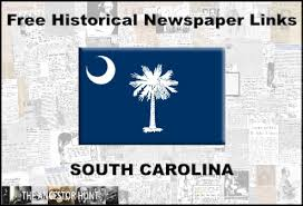 South Carolina Online Historical Newspapers Summary