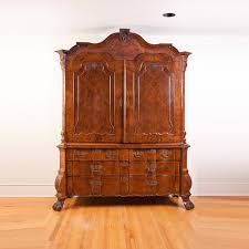 dutch antique bombe armoire or cupboard in walnut bonnin ashley offers antique armoires collection from antique armoire furniture