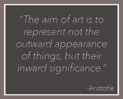 Aristotle Quotes On Art. QuotesGram via Relatably.com