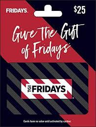 T.G.I. Friday's FD Gift Card $25: Gift Ca - Amazon.com