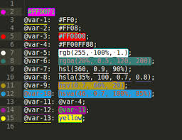 <b>Color Highlighter</b> - Packages - Package Control