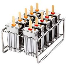 Lumsworld Stainless Steel Popsicles Molds Metal ... - Amazon.com