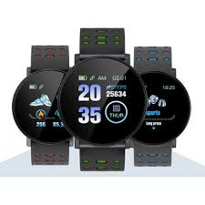 Xanes® <b>119plus</b> 1.3in color touch screen heart rate monitor <b>smart</b> ...