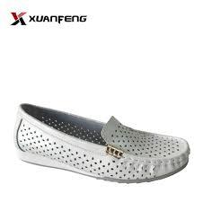 Fashion Ladies <b>Summer</b> Comfortable <b>Genuine Leather Loafers</b>