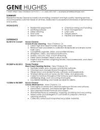 house cleaning resume example com resume for a house professional cleaner residential house cleaner experience maintenance worker