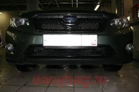 <b>Сетка для защиты</b> радиатора Subaru XV, 2013-... (Meshmsk <b>рамка</b>)