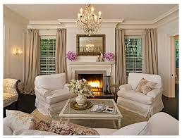 the livingroom has a mostly neutral palette but gets a touch of color chic cozy living room furniture