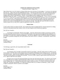 recommendation letter templates 8 templates in pdf word sample recommendation letters