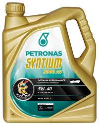 <b>Моторное масло Petronas Syntium</b> 3000 AV 5W40 4 л — купить по ...