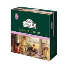 """Отзывы о Черный <b>чай Ahmad Tea</b> """"Летний чабрец"""""""