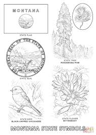 Small Picture Montana State Symbols coloring page Free Printable Coloring Pages