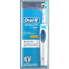 Электрическая зубная <b>щетка Oral</b>-<b>b 3d</b> white luxe средней ...