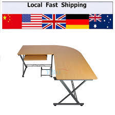 l shaped pc table durable computer desk modern table home study office furniture corner desk cheap office workstations