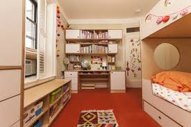 this rooms designed for two little girls whose small room is also used for family storage casa kids brooklyn furniture