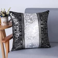 Cotton Linen Pillows Case Sofa Waist Throw Cushion Cover ...