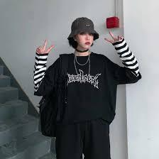 <b>NiceMix</b> 2019 Autumn American Simple Letter Print T <b>Shirt</b> Men's ...