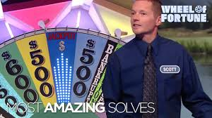 Top Five Most Amazing Solves! | <b>Wheel of Fortune</b> - YouTube