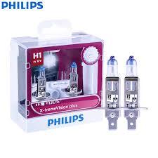 <b>Philips</b> X treme Vision Plus <b>H1 12V 55W</b> P14.5s 12258XVPS2 130 ...