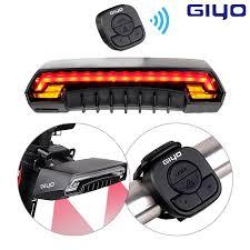 <b>Turn</b> Signal <b>Bike</b> Rear Light Tail Light <b>Safety Warning</b> LED Light ...