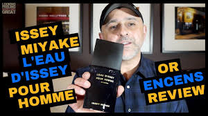 <b>Issey Miyake L'Eau d'Issey</b> Pour Homme Or Encens Review + ...