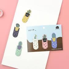 <b>Cactus Magnetic Bookmark</b> Set – Kawaii Pen Shop