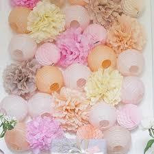 20cm fan Paper Crafts Showers Wedding Party Birthday Festival ...