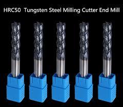 ZGT <b>Milling Cutter</b> Metal Cutter 4mm 5mm 6mm 8mm 10mm Endmill ...
