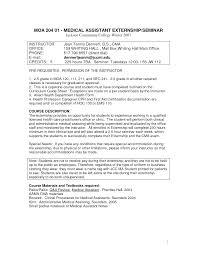 sample resume for certified medical assistant experience resumes sample resume for certified medical assistant inside sample resume for certified medical assistant