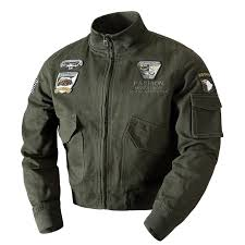 2018 <b>Military Jacket Men</b> Pilot <b>Jacket Coat Army Men's Spring</b> ...