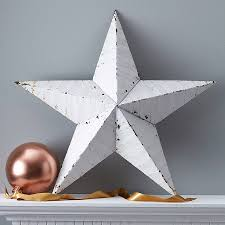 metal star wall decor:  large metal tin barn star wall decor by thelittleyellowbarn