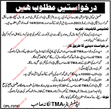 legal advisor required tehsil municipal administration tma jobs email to friend save job print