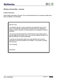 writing a formal letter varieties of english writing a formal letter