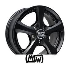 Alloy wheels MSW 19 6.5x15 ET38 4x100 63.4 Matt, Black ...