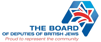 Image result for THE BOARD OF DEPUTIES OF BRITISH JEWS LOGO
