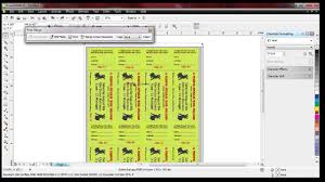 raffle ticket numbering number pro and corel draw raffle ticket numbering number pro and corel draw