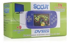 Купить Портативная <b>игровая приставка</b> 16bit <b>DVTech Scout</b> + 9 ...
