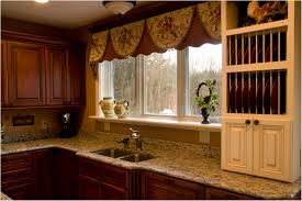 Large Kitchen Window Treatment Kitchen Kitchen Curtain Ideas Photos Dark Wood Kitchen Valance