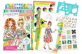 Make It Real - Fashion Design Sketchbook: Graphic ... - Amazon.com