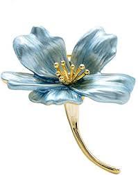 Jana Winkle Enamel Small Flower Brooches Women ... - Amazon.com