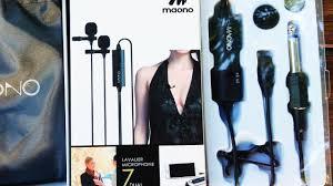 Двойной петличный <b>микрофон MAONO</b> / Double lapel microphone ...