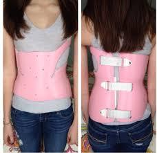 Resultado de imagem para scoliosis brace under clothes